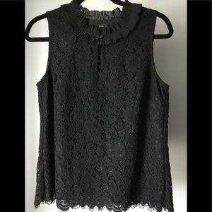 J.CREW black tag lace tank